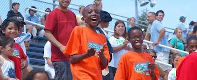 Black Tennis Pro's Arthur Ashe Kid's Day