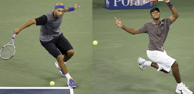 Black Tennis Pro's James Blake vs. Donald Young