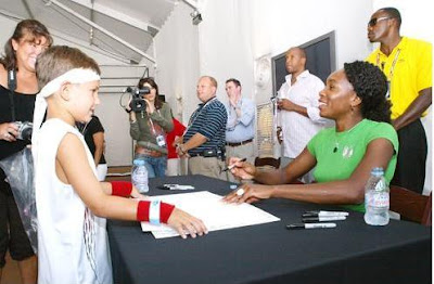 Black Tennis Pro's U.S. Open Venus Williams