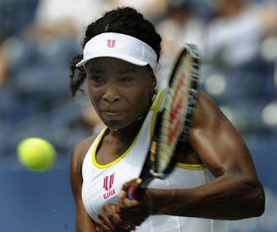 Black Tennis Pro's U.S. Open Venus Williams vs. Alona Bondarenko