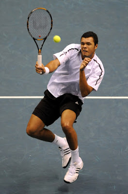 Black Tennis Pro's Thailand Open Semifinal Jo-Wilfried Tsonga and Gael Monfils