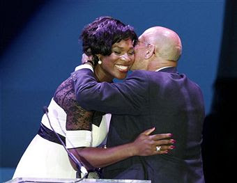 Black Tennis Pro's Serena Williams and Arnon Milchan