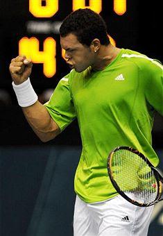 Black Tennis Pro's Jo-Wilfried Tsonga Thailand
