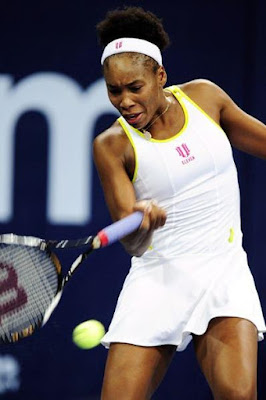 Black Tennis Pro's Venus Williams Zurich Semifinal