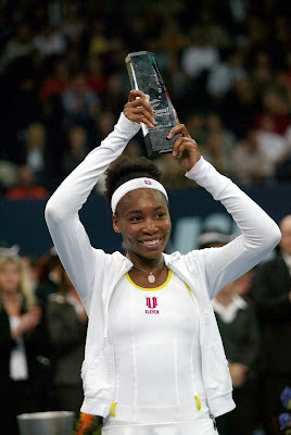 Black Tennis Pro's Venus Williams Wins Zurich Open