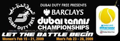 Black Tennis Pro's Barclays Dubai Header