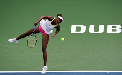 Black Tennis Pro's Venus Williams Barclays Dubai Tennis Championships