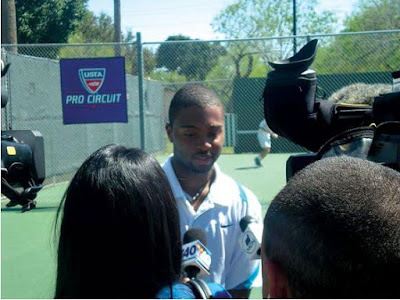 Black Tennis Pro's Donald Young McAllen Futures