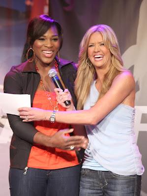 Black Tennis Pro's Serena Williams Gatorade G2 Everyday Athlete