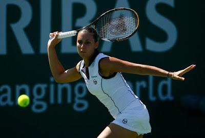 Black Tennis Pro's Flavia Pennetta BNP Paribas Open