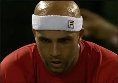 Black Tennis Pro's James Blake Sony Ericsson Open