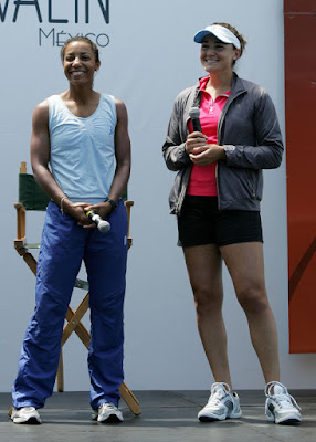 Black Tennis Pro's Raquel Kops-Jones Sony Ericsson Open