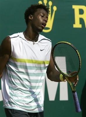 Black Tennis Pro's Gael Monfils Masters Series Monte Carlo