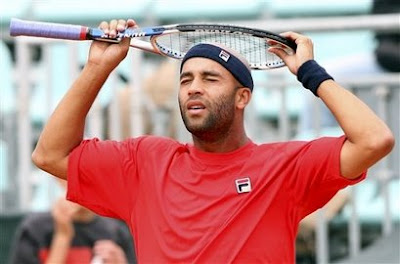 Black Tennis Pro's James Blake Rome Masters
