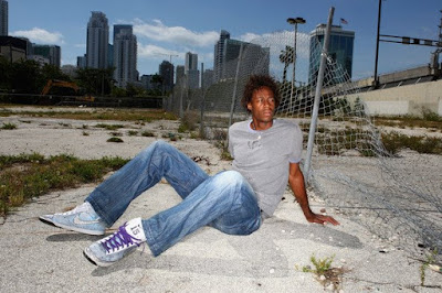 Black Tennis Pro's Gael Monfils Prince Photo Shoot