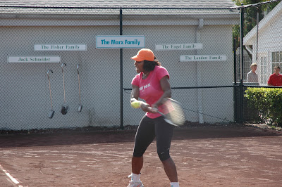 Black Tennis Pro's Serena Williams Nick Bollettieri Tennis Academy