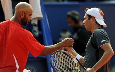 Black Tennis Pro's James Blake Estoril Open Final