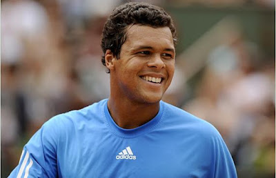 Black Tennis Pro's Jo-Wilfried Tsonga 2009 Benny Berthet Day