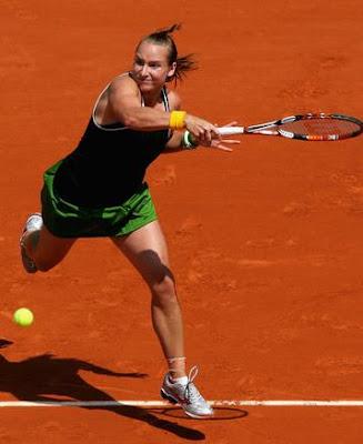 Black Tennis Pro's Bethanie Mattek-Sands 2009 French Open Round 1