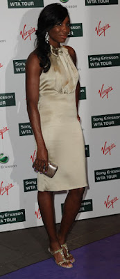 Black Tennis Pro's Venus Williams Attends 2009 WTA Tour Pre-Wimbledon Party