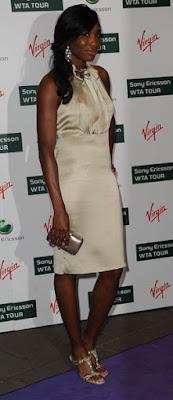 Black Tennis Pro's Venus Williams Attends 2009 WTA Tour Pre-Wimbledon Party