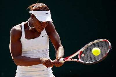 Black Tennis Pro's Sloane Stephens Wimbledon Juniors Quarterfinals