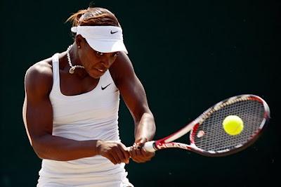 Black Tennis Pro's Sloane Stephens Wimbledon Juniors Quarterfinals