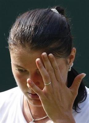 Black Tennis Pro's Dinara Safina 2009 Wimbledon