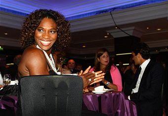 Black Tennis Pro's Roger Federer and Serena Williams 2009 Wimbledon Champions Ball