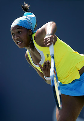 Black Tennis Pro's Angela Haynes 2009 Bank Of The West Classic Round 1