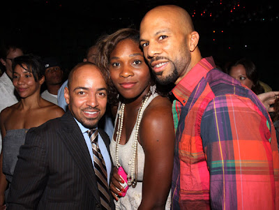 Serena Williams And Common At The