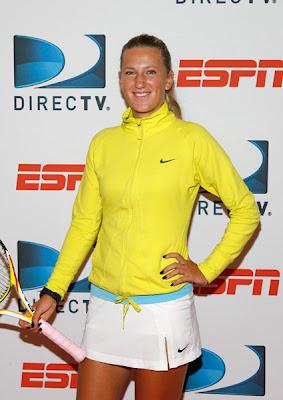 Black Tennis Pro's Victoria Azarenka DirecTV ESPN U.S. Open Experience