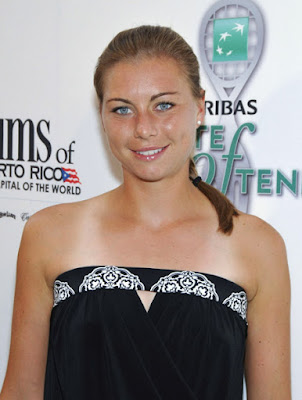 Black Tennis Pro's BNP Paribas Taste Of Tennis Vera Zvonareva