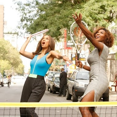 Black Tennis Pro's Serena Williams and Tyra Banks on Tyra Show