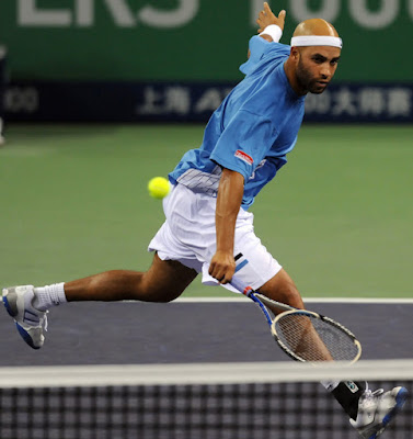 Black Tennis Pro's James Blake Coach Change In Shanghai