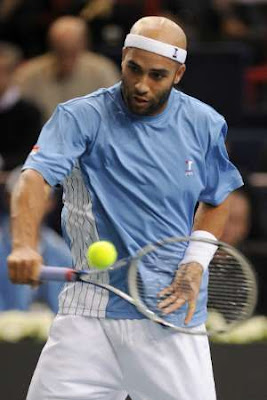 Black Tennis Pro's James Blake BNP Paribas 2009