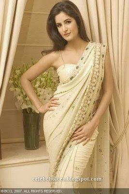 Katrina Kaif in Embroidered Saree