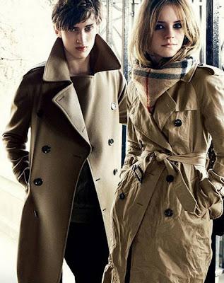 Emma Watson Burberry Ads Photo Shoot