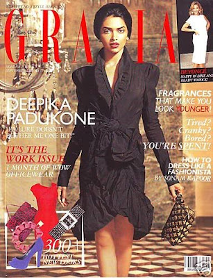 Deepika Padukone New Look on Grazia Magazine