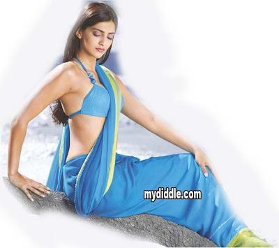 Sonam Kapoor  in blouse