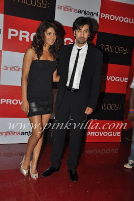 Ranbir and priyanka at provogue 2012 for anjaana anjaani promotions 2