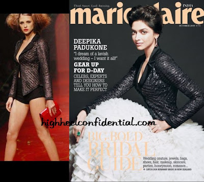 Deepika On Marie Claire