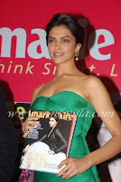 Deepika Padukone Launch Marie Claire Oct 2010 issue1