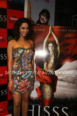 Mallika Sherawat Promotes Hiss 89