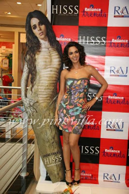 Mallika Sherawat Promotes Hiss 2