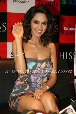 Mallika Sherawat Promotes Hiss 3