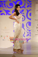 Prachi Desai in Bridal Saree walks Ramp