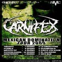 Carnifex en Monterrey
