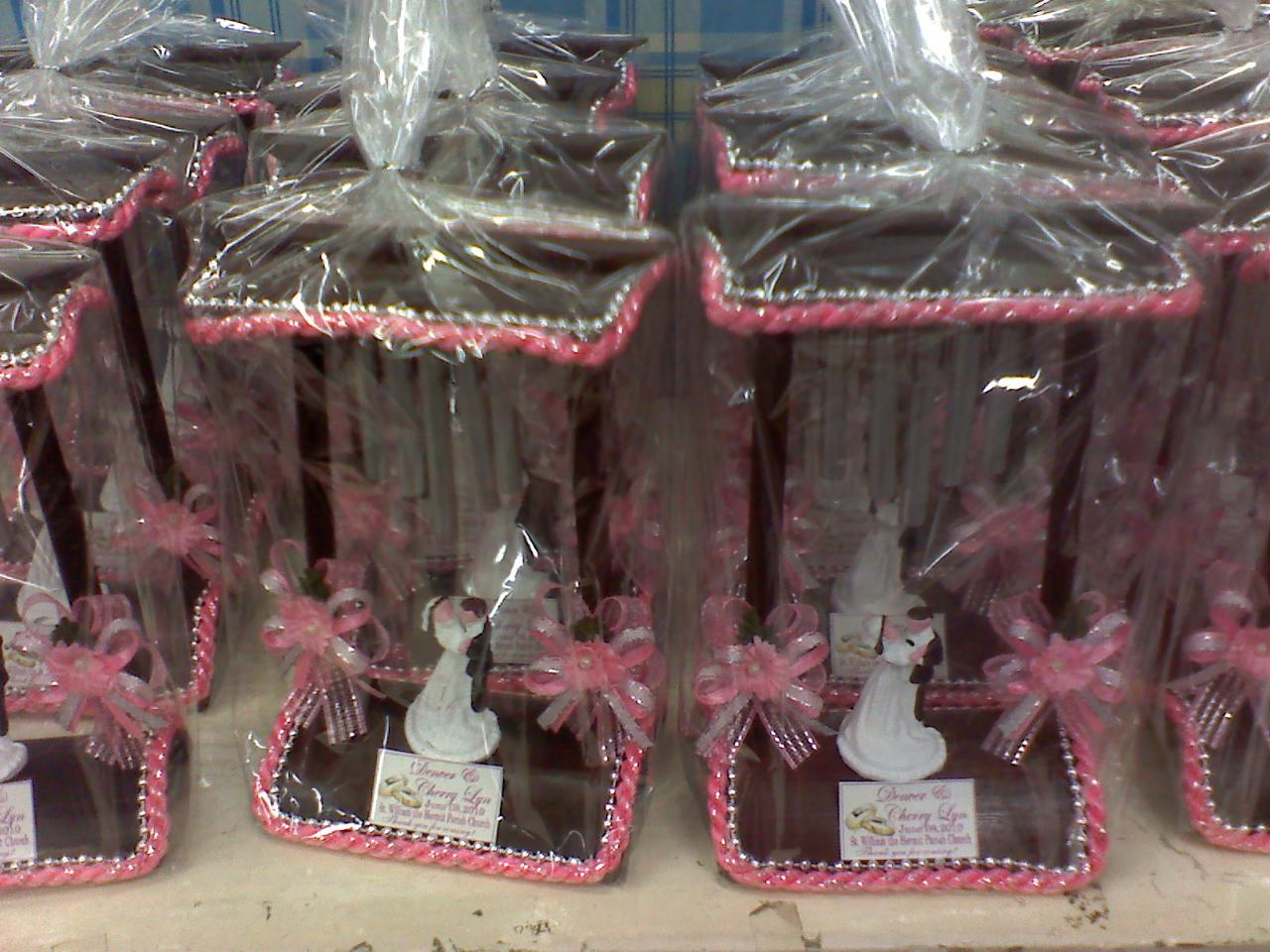 Giveaways wedding souvenirs divisoria manila