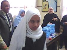 سارة مجدى الفيشاوى الثالثة على الصف الثالث
